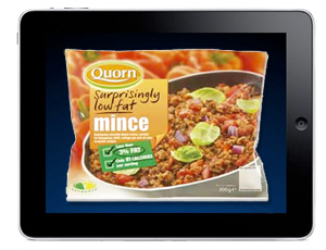 The iPad as Quorn